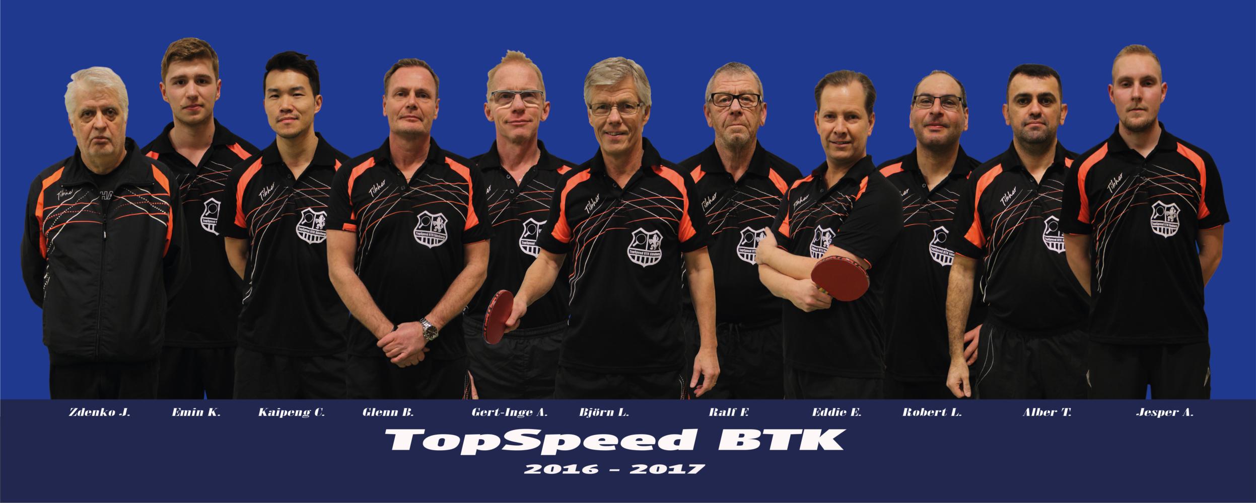 TopSpeed BTK - LAG - 2016-2017